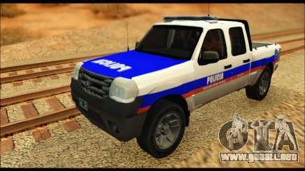 Ford Ranger 2011 Policia Bonaerense para GTA San Andreas