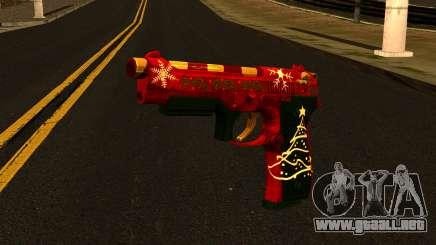 Navidad Gun para GTA San Andreas