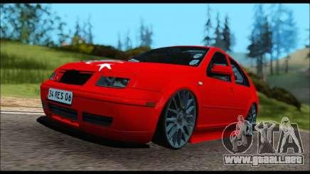 Volkswagen Bora para GTA San Andreas