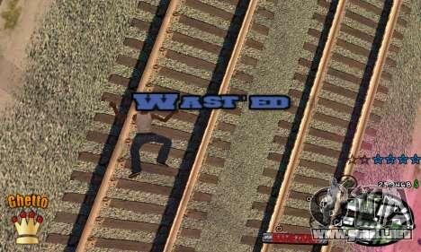 C-HUD Ghetto King para GTA San Andreas sucesivamente de pantalla