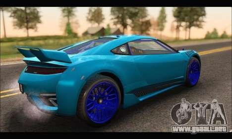 Dinka Jester Racecar (GTA V) (SA Mobile) para GTA San Andreas
