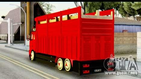 Volvo FH16 Hal Kamyonu para GTA San Andreas left