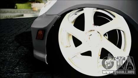 Honda Civic 2005 VTEC para GTA San Andreas vista posterior izquierda