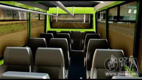 Iveco Minibus para visión interna GTA San Andreas