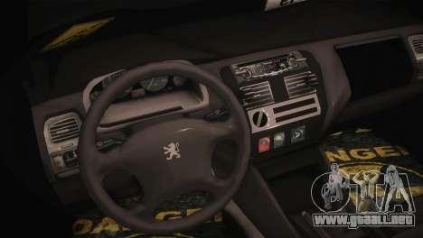 Peugeot 106 GTI F Tuning para la visión correcta GTA San Andreas