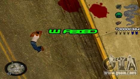 C-HUD Dragon para GTA San Andreas séptima pantalla