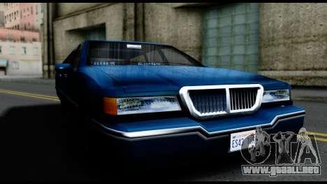 Elegant Station Wagon para la visión correcta GTA San Andreas
