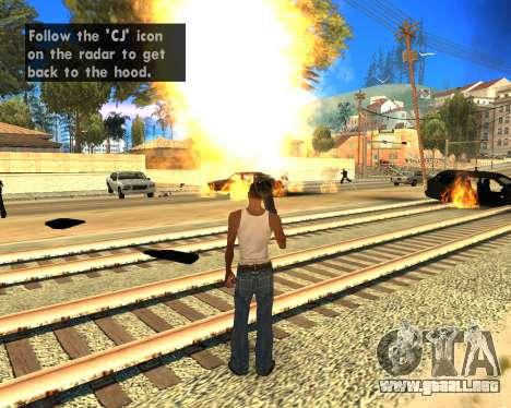 Effect Mod 2014 By Sombo para GTA San Andreas tercera pantalla