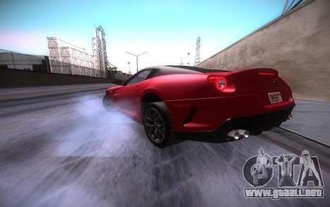 ENB infinity Beta Edition para GTA San Andreas octavo de pantalla