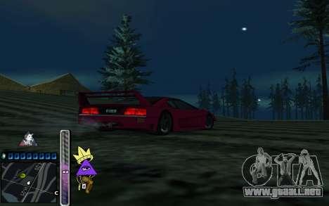 C-HUD Lite SWAG para GTA San Andreas tercera pantalla