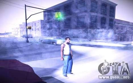 Sunny 2 ENBSeries para GTA San Andreas quinta pantalla