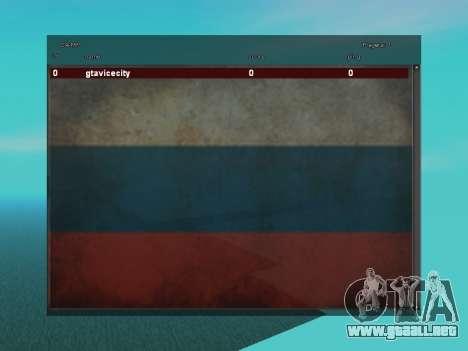 SampGUI Bandera De Rusia para GTA San Andreas