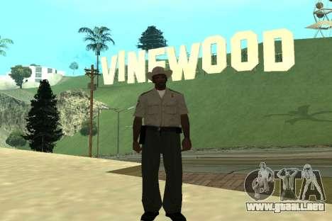 Black Police All para GTA San Andreas