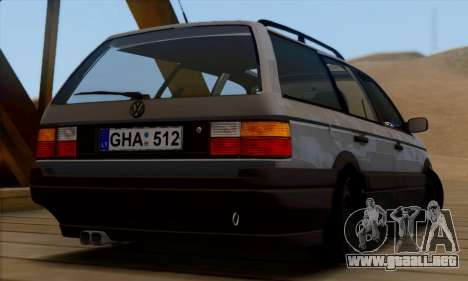 Volkswagen Passat B3 para GTA San Andreas left