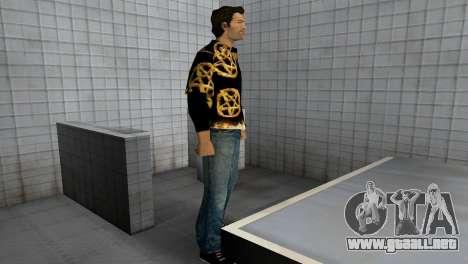 Pentagram Shirt para GTA Vice City sucesivamente de pantalla