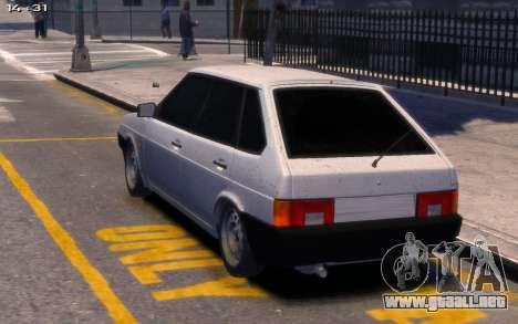 Lada 2109 para GTA 4 left