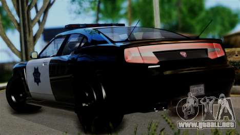 GTA 5 Buffalo S Taxi para GTA San Andreas left
