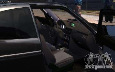 VAZ 2172 R17 para GTA 4 Vista posterior izquierda