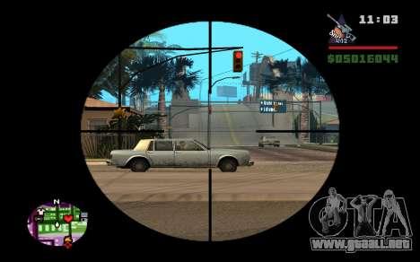 AWP Dragon Lore CS:GO para GTA San Andreas tercera pantalla