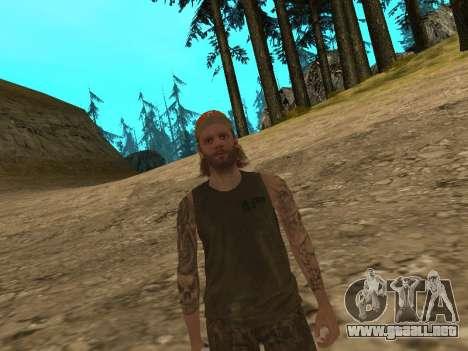 Cletus Ewing de GTA V para GTA San Andreas tercera pantalla