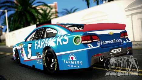 Chevrolet SS NASCAR Sprint Cup Series 2013-2014 para GTA San Andreas left
