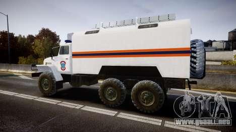Ural 4320 MES para GTA 4 left