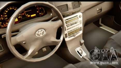 Toyota Hilux Meraclo Utility 2010 para GTA San Andreas vista hacia atrás