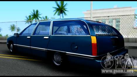 Elegant Station Wagon para GTA San Andreas left