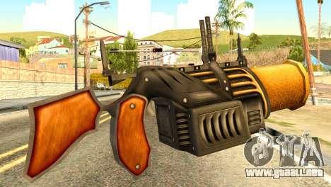 Grenade Launcher from Redneck Kentucky para GTA San Andreas segunda pantalla