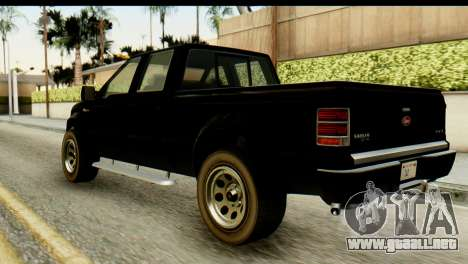 GTA 5 Vapid Sadler para GTA San Andreas left