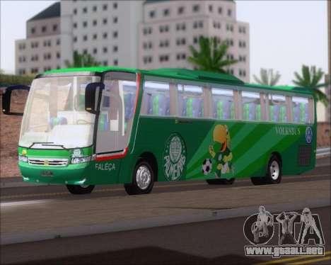 Busscar Vissta Buss LO Palmeiras para GTA San Andreas left