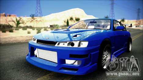 Nissan Silvia S14 para la visión correcta GTA San Andreas
