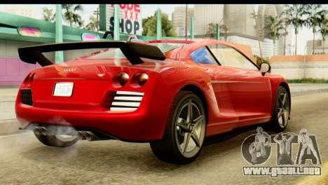 GTA 5 Obey 9F Coupe SA Mobile para GTA San Andreas left