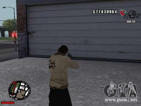 C-Hud OLD para GTA San Andreas tercera pantalla