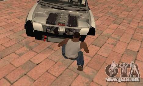 Chevrolet Camaro ZL1 RedBull para la visión correcta GTA San Andreas