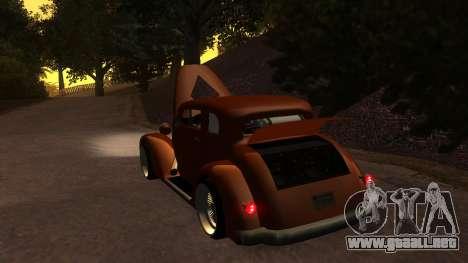 New Hustler para visión interna GTA San Andreas