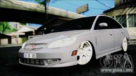Honda Civic 2005 VTEC para GTA San Andreas