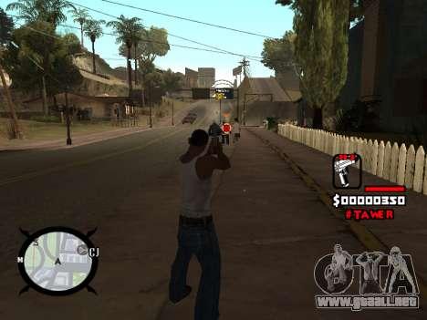 HUD by LokoMoko para GTA San Andreas tercera pantalla