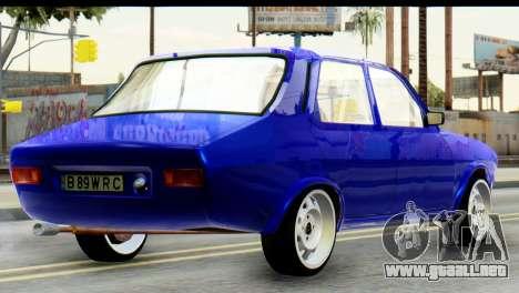 Dacia 1300 B 89 WRC para GTA San Andreas left