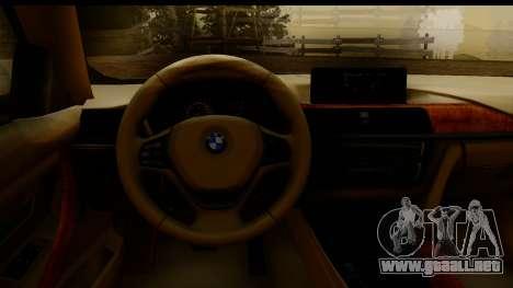 BMW 335i E92 2012 para la visión correcta GTA San Andreas