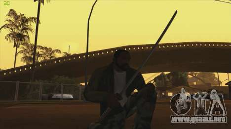 Katana from Killingfloor para GTA San Andreas