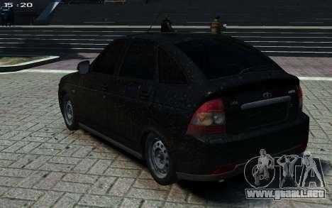 LADA Priora 2172 para GTA 4 left