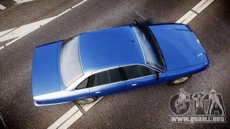 Vapid Stanier Civilian para GTA 4 visión correcta