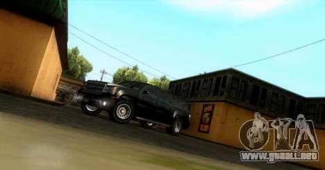 GTA 5 FIB Granger para GTA San Andreas left