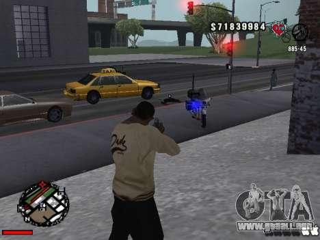 C-Hud OLD para GTA San Andreas segunda pantalla