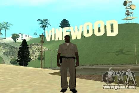 Black Police All para GTA San Andreas tercera pantalla