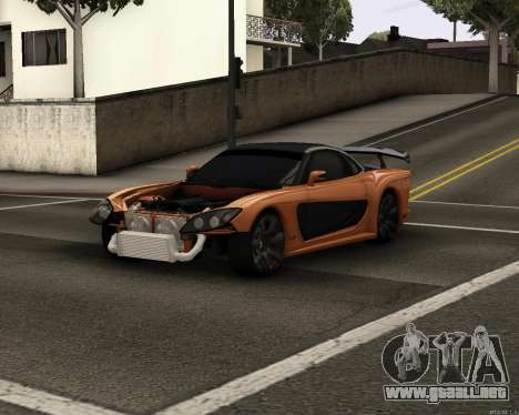 Mazda RX-7 VeilSide Drift para GTA San Andreas