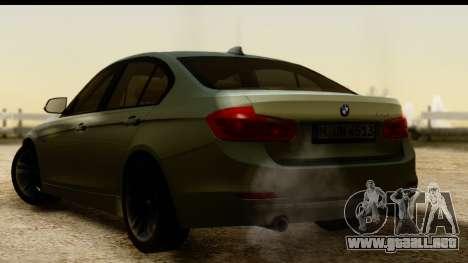 BMW 335i E92 2012 para GTA San Andreas left