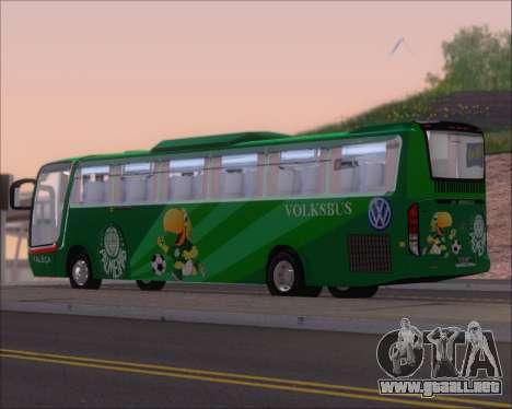 Busscar Vissta Buss LO Palmeiras para la visión correcta GTA San Andreas