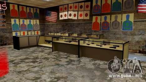 Modelos 3D de armas en Ammu-nation para GTA San Andreas séptima pantalla